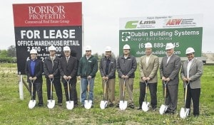 New warehouse groundbreaking in Plain City
