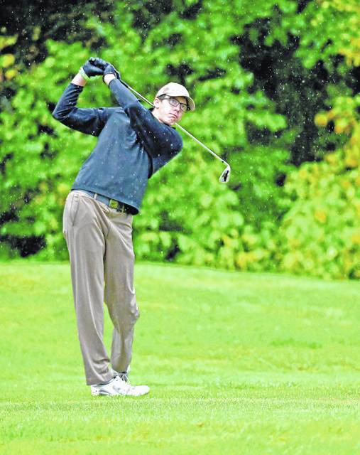 West Jefferson's Joe Thompson will look to get out of the Division II sectional tournament and onto the the district.