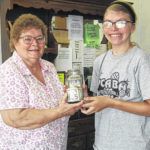 Donation made to Plain City Food Pantry