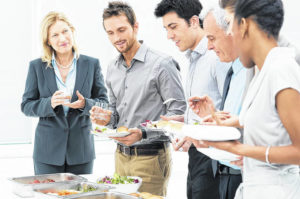 Holiday potluck food safety tips