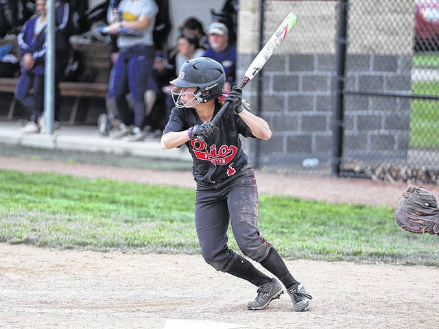 Ohio Wesleyan's Ashley Day, a Jonathan Alder High School graduate had two hits and scored a run in the Bishops 3-1 win over Carroll Saturday, March 17.