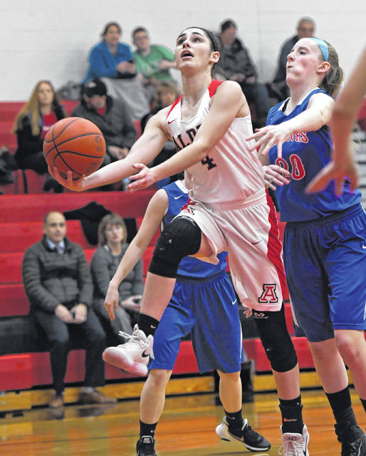 Jonathan Alder sophomore guard Sydney Bourquin was selected first team Division II All-Central District by a collection of Central Ohio sports writers.