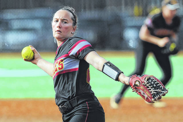 Mady Watson, a Jonathan Alder graduate, is off to a solid start for the Winthrop University softball program.