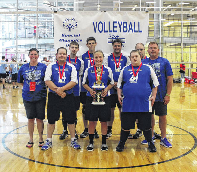 Madison County athletes participated in the State Special Olympics Summer Games, held June 22-24 at Ohio State University. The Tigers earned 57 medals and 10 ribbons. The Madison County Tigers Special Olympics Traditional Volleyball Team earned gold at the annual State Games.