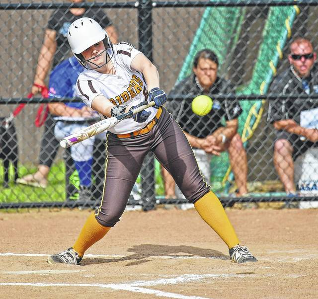 West Jefferson's Brooke Roberts was a D-III honorable mention All-Ohio selection this spring.
