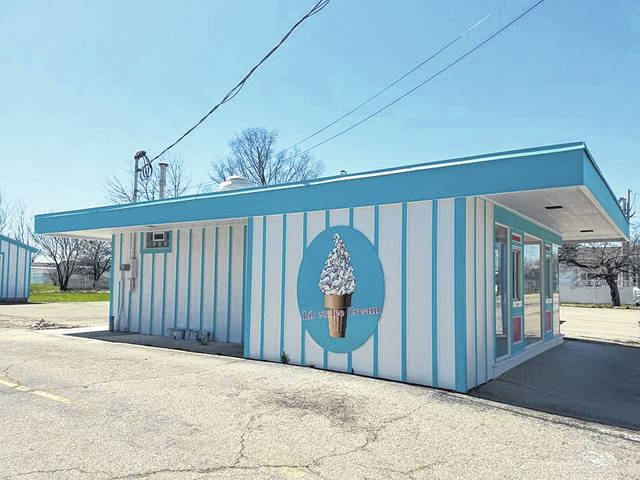 Lil e's Ice Cream earlier this year. The new shop opened on Saturday.