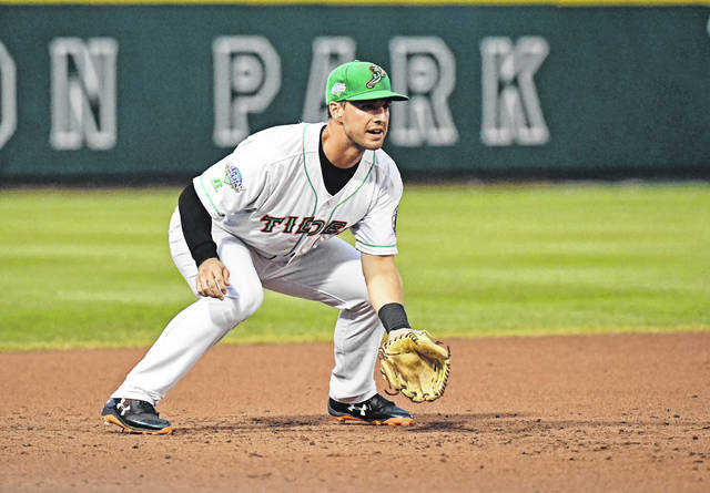 Central Ohio native Drew Dosch, an infielder for the Norfolk Tides, participated in the Triple-A All Star game held Wednesday at Huntington Park in Columbus.