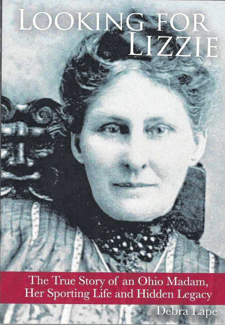 The cover of Debra Lape&#8217;s book, &#8220;Looking for Lizzie<em>.&#8221; </em>Lape published the book in 2014 and will be at Pastime Park for a signing July 21. Both Lape and the book have Plain City connections.